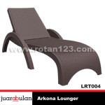 Arkona Lounger Rotan Sintetis LRT004