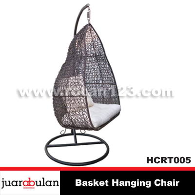 Basket Hanging Chair Ayunan Rotan