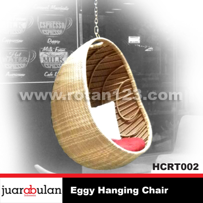 Eggy Hanging Chair Ayunan Rotan