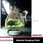 Alpukat Hanging Chair Ayunan Rotan