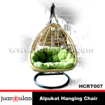 Alpukat Hanging Chair Ayunan Rotan  HCRT007 copy