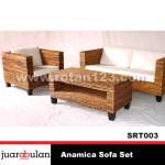 Anamica Sofa Set  Sofa Rotan Alami SRT003