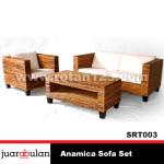 Anamica Sofa Set  Sofa Rotan Alami SRT003 copy