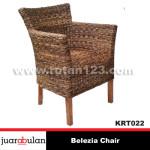 Belezia Chair Kursi  Rotan Alami KRT022