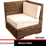 Berian Chair Kursi Rotan Alami KRT005