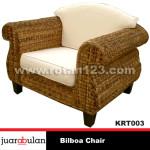 Bilboa Chair Kursi Rotan Alami KRT003