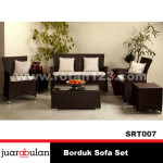 Borduk Sofa Set  Sofa Rotan Sintetis SRT007