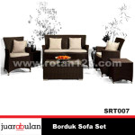 Borduk Sofa Set  Sofa Rotan Sintetis SRT007 copy