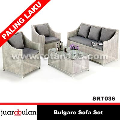 Harga Jual Bulgare Sofa Set Sofa Rotan Sintetis Model Gambar