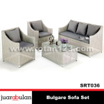 Bulgare Sofa Set Sofa Rotan Sintetis SRT036