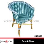 Candi Chair Kursi Rotan Sintetis KRT028