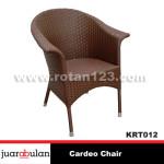 Cardeo Chair Kursi Rotan Sintetis KRT012