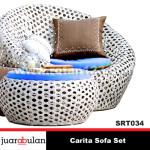 Carita Sofa Set Sofa Rotan Sintetis SRT034