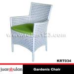 Gardenis Chair Kursi Rotan Sintetis  KRT034