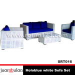Holoblue white Sofa Set  Sofa Rotan Sintetis SRT016