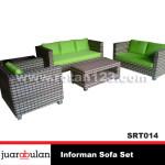 Informan Sofa Set  Sofa Rotan Sintetis SRT014