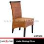 Jede Dining Chair Kursi Rotan Alami KRT009