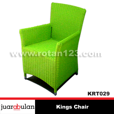 Kings Chair Kursi Rotan Sintetis Wicker