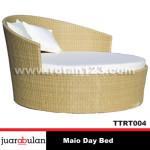 Maio Day Bed Tempat Tidur Rotan SintetisTTRT004