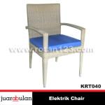 elektrik Chair Kursi Rotan Sintetis  KRT040