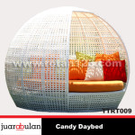 Candy Daybed Tempat Tidur Rotan Sintetis TTRT009 copy