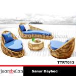 Sanur Daybed Tempat Tidur Rotan Sintetis TTRT013 copy