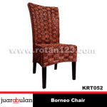 Borneo Chair Kursi Rotan Alami  KRT052 copy