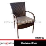Canbera Chair Kursi Rotan Sintetisi  KRT062