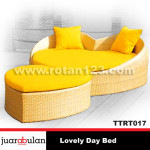 Lovely Day Bed Sofa bed Rotan Sintetis TTRT017