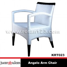 Angelo Chair Kursi Rotan Sintetis