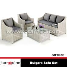 Bulgare Sofa Set Sofa Rotan Sintetis