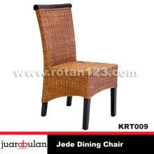 Jede Dining Chair Kursi Rotan Alami
