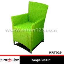 Kings Chair Kursi Rotan Sintetis Wicker
