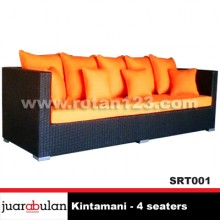 Kintamani 4 Seaters Sofa Rotan Sintetis