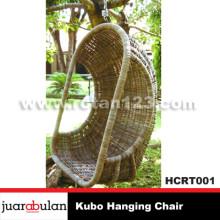 Kubo Hanging Chair Ayunan Rotan Alami