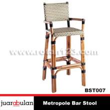 Metropole Bar Stool Kursi Bar Rotan Alami