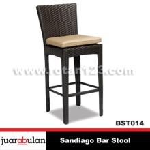 Sandiago Bar Stool Kursi  Bar Rotan Sintetis
