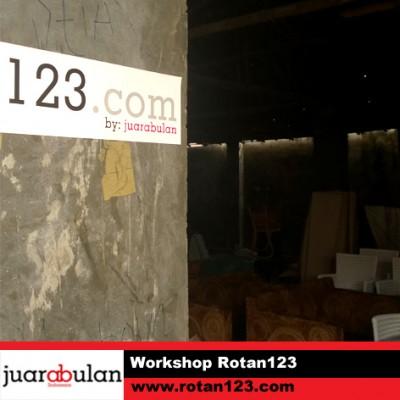 Workshop Rotan123