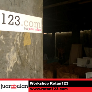 Workshop Rotan123