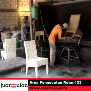 Workshop pengecatan  Rotan123